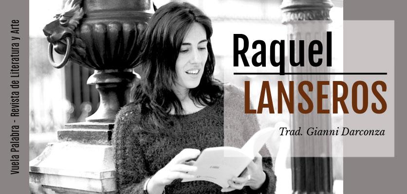 Poemas de Raquel Lanseros