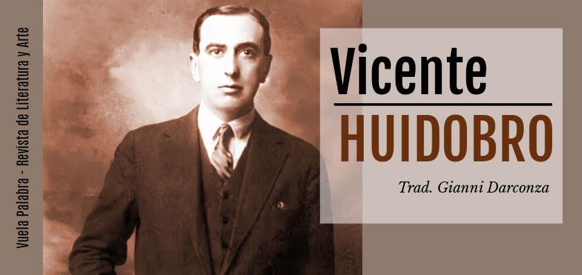 Poemas de Vicente Huidobro