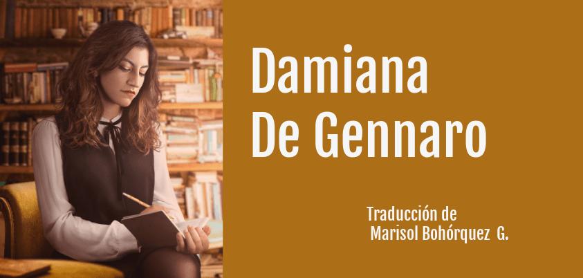 Damiana De gennaro, poeta italiana