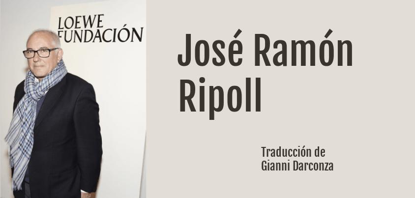 Poesía de José Ramón Ripoll