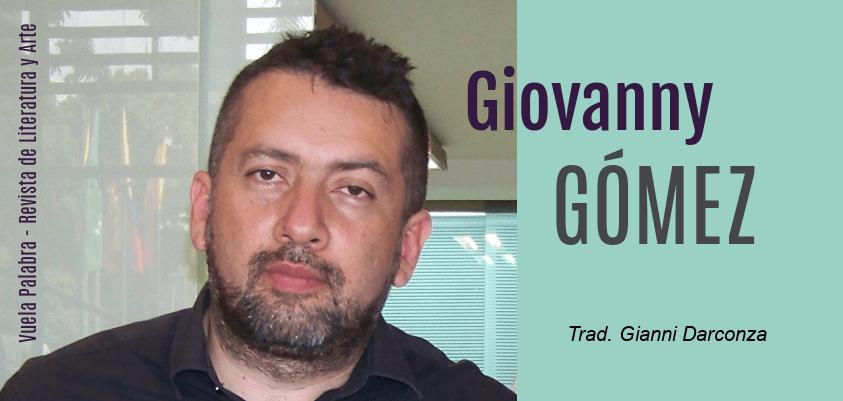 Poemas de Giovanny Gómez