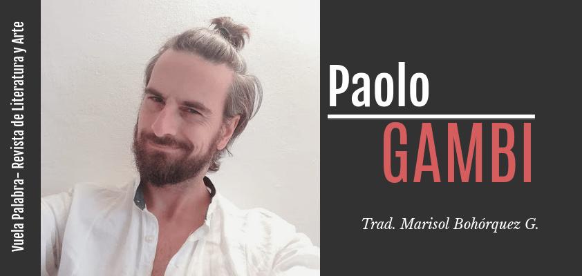 Poemas de Paolo Gambi