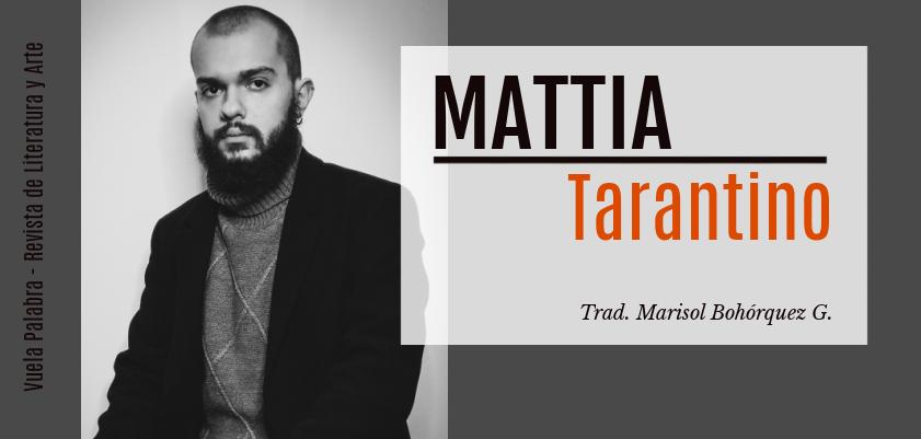 Mattia Tarantino-Vuela Palabra